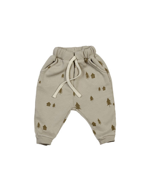 KIDWILD _ woodland joggers (biscuit)