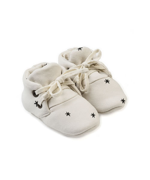 KIDWILD _ baby booties (star)