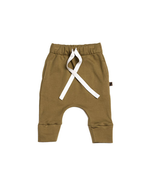 KIDWILD _ drawstring pants (curry)