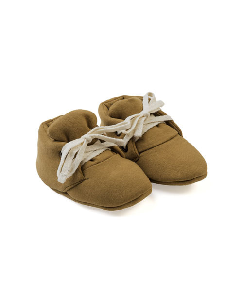 KIDWILD _ baby booties (curry)
